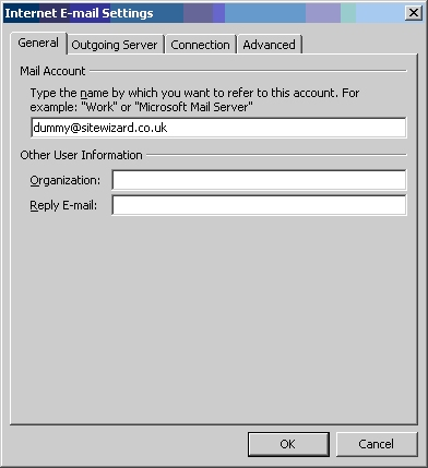 Configuring Outgoing Server