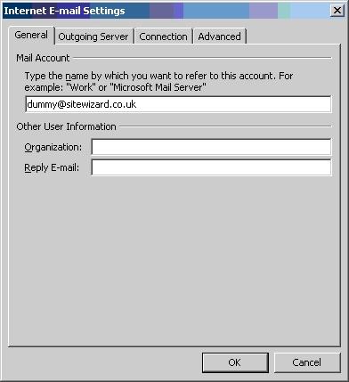Configuring Outgoing Server
